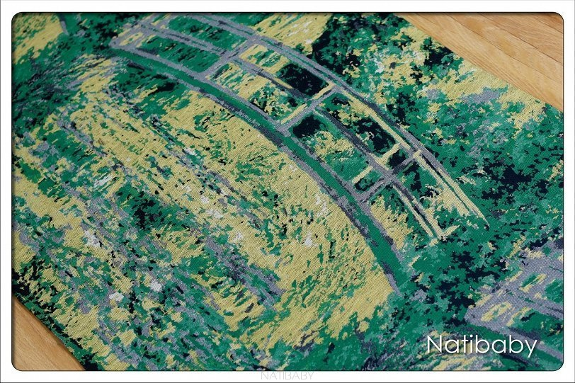 Natibaby Fascia Portabebè Water Lily Pond With Japanese Bridge-3731