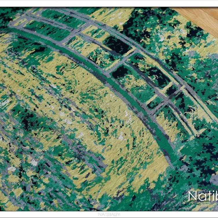 Natibaby Fascia Portabebè Water Lily Pond With Japanese Bridge-3728