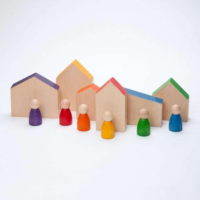 Grapat Gioco in legno Case e Nins© -0