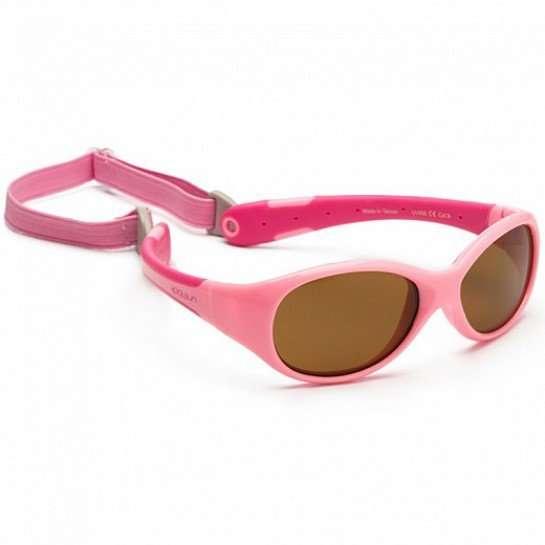 Koolsun occhiali da sole bambino Flex Hot Pink-0
