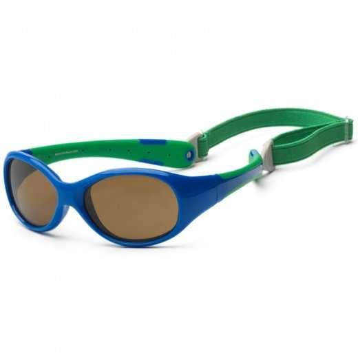 Koolsun occhiali da sole bambino Flex Royal Green-5424