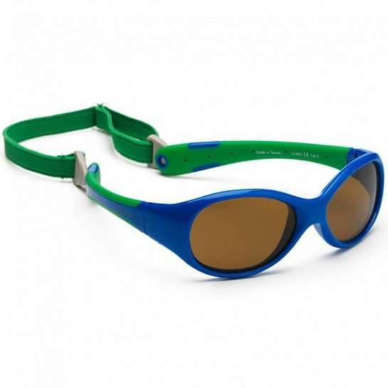 Koolsun occhiali da sole bambino Flex Royal Green-0