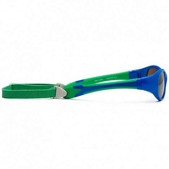 Koolsun occhiali da sole bambino Flex Royal Green-5422