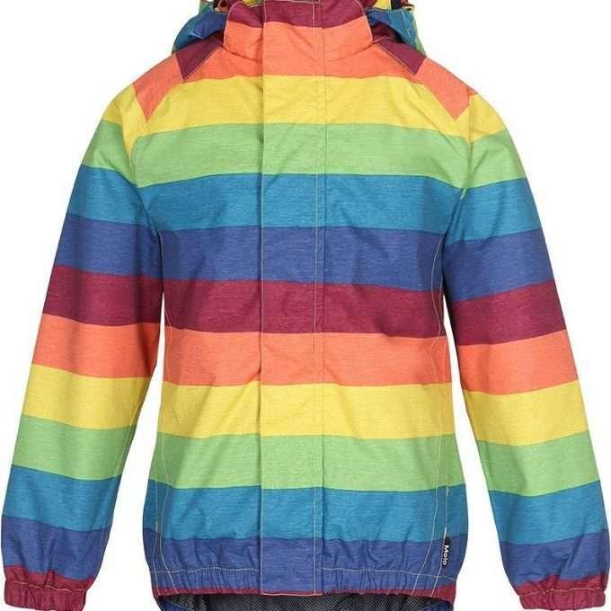 Molo Giacca Antipioggia Uni Rainbow-0