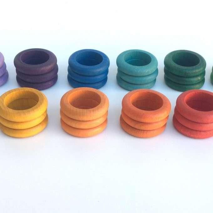 grapat anelli 12 colori x 36-0