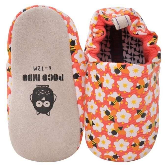 Poco Nido Bees Mini Shoes Scarpine Primi Passi-0
