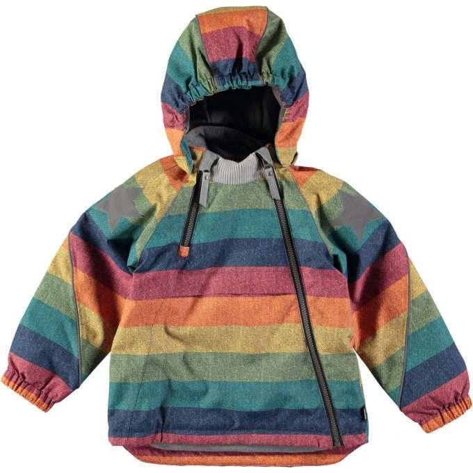 Molo Hopla Denim Rainbow Giacca -0