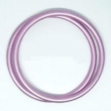 coppia di anelli Rosa chiaro taglia XL-0