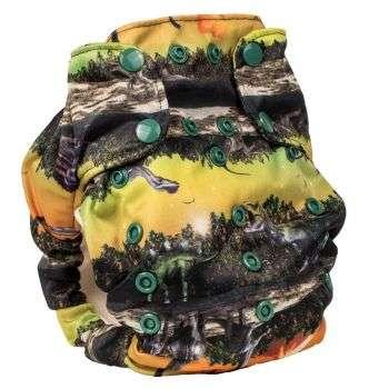 Smart Bottoms AIO 3:1 Pannolino Lavabile Jurassic-0