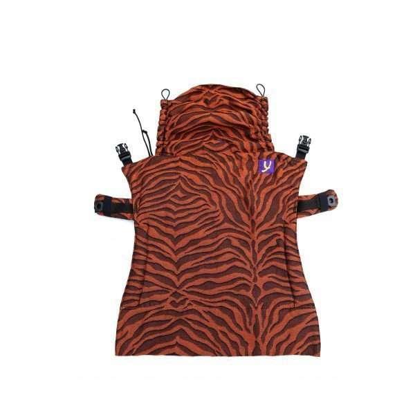 Pannello Tiger Black Orange per marsupio Yaro Flex-0