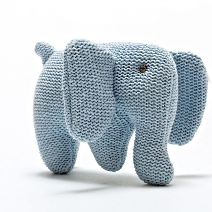 Best Years Elefante Blue in cotone biologico-0