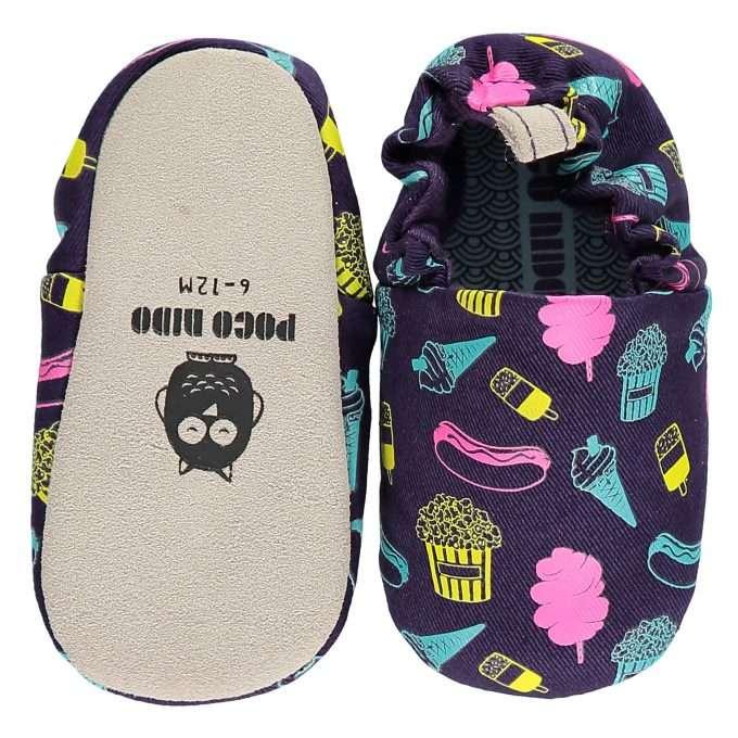 Poco Nido Fairground Food Mini Shoes Scarpine Primi Passi-0