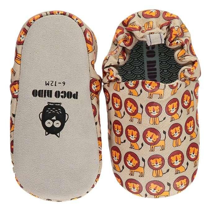 Poco Nido Happy Lions Mini Shoes Scarpine Primi Passi-0
