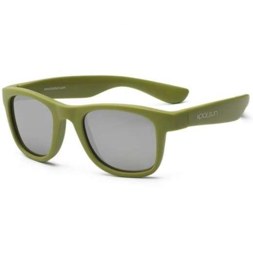 Koolsun Occhiali Da Sole Bambino Wave Army green-0