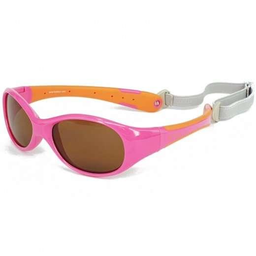 Koolsun Occhiali da Sole Bambino Flex Hot Pink Orange-0