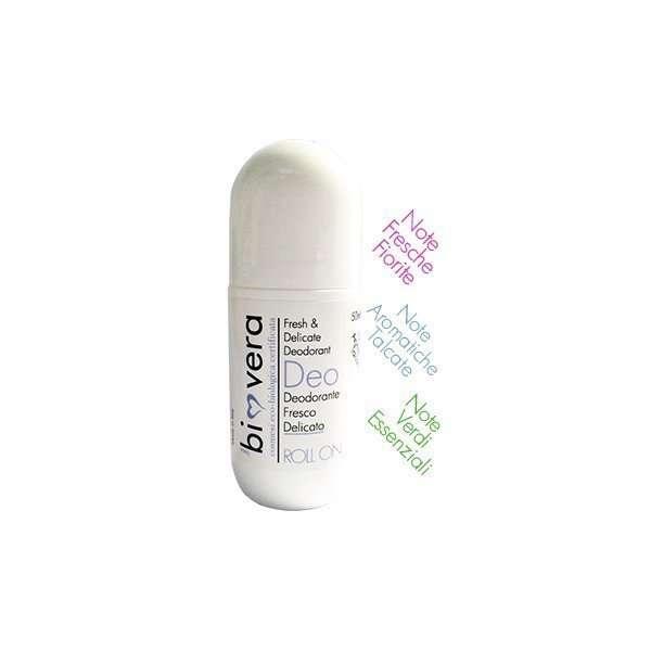 BIO VERA DEO ROLL-ON Deodorante Fresco Delicato-0