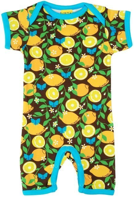 Duns Tuta Maniche Corte Lemon-0