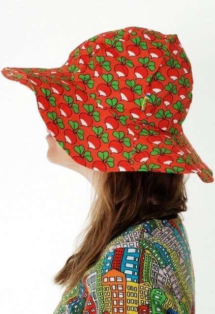 Duns Radish Coral Cappello/berretto con tesa-0