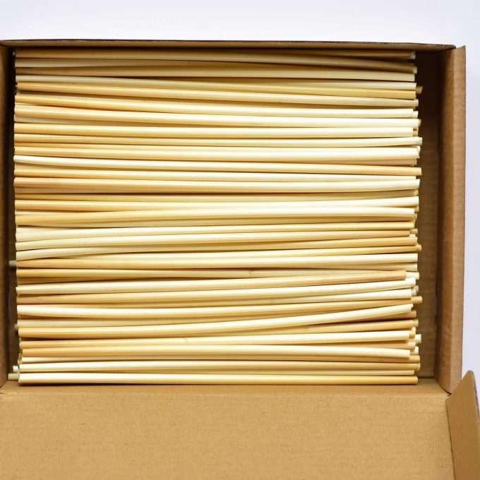 Just Straw Cannucce in paglia confezione da 250 pezzi -0
