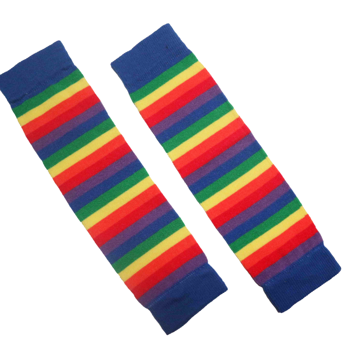 Forever Is One Second Scaldamuscolo/Leg warmers Rainbow Stripes-0