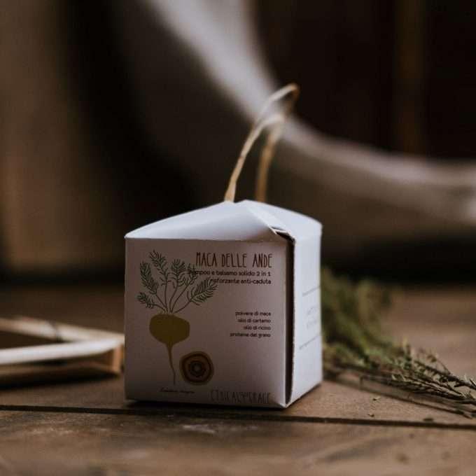 Ethical Grace Maca delle Ande Shampoo e Balsamo Solido Rinforzante anti-caduta-0