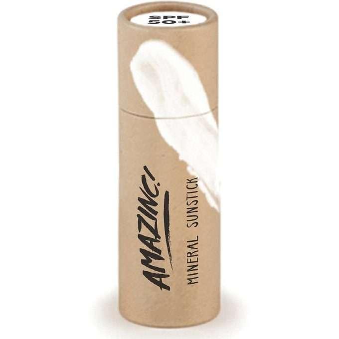 Amazinc Sun Stick Protezione solare White SPF 50+-0