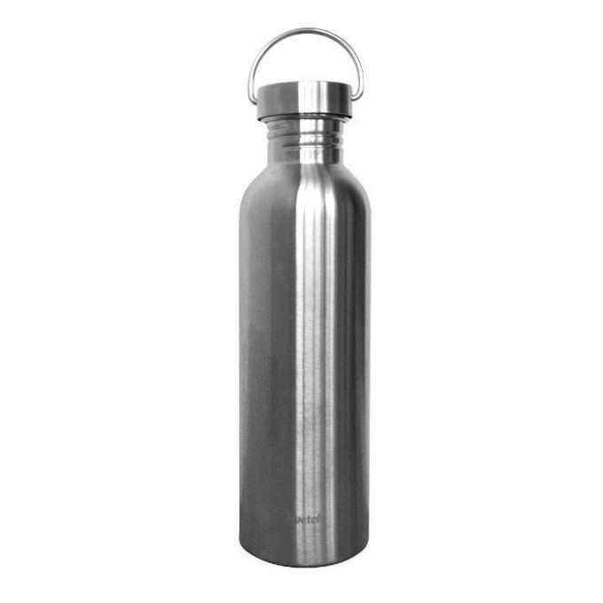 Qwetch Borraccia in acciaio plastic free 1 L-0