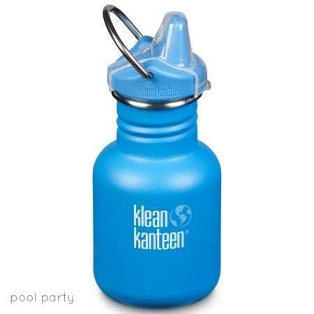 Klean Kanteen Borraccia Kid Kanteen Pool Party Matte Sippy Cap-0