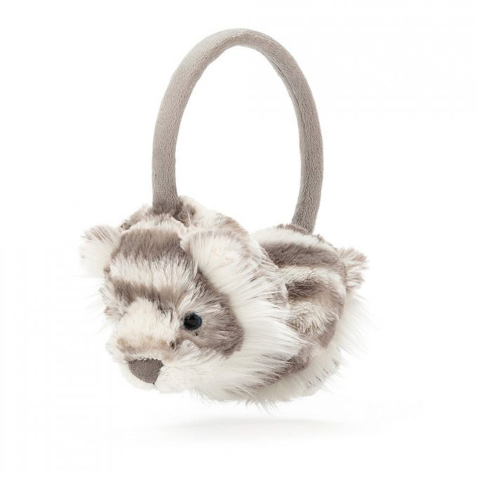 Jellycat Paraorecchie Tigre Bianca Sacha-0