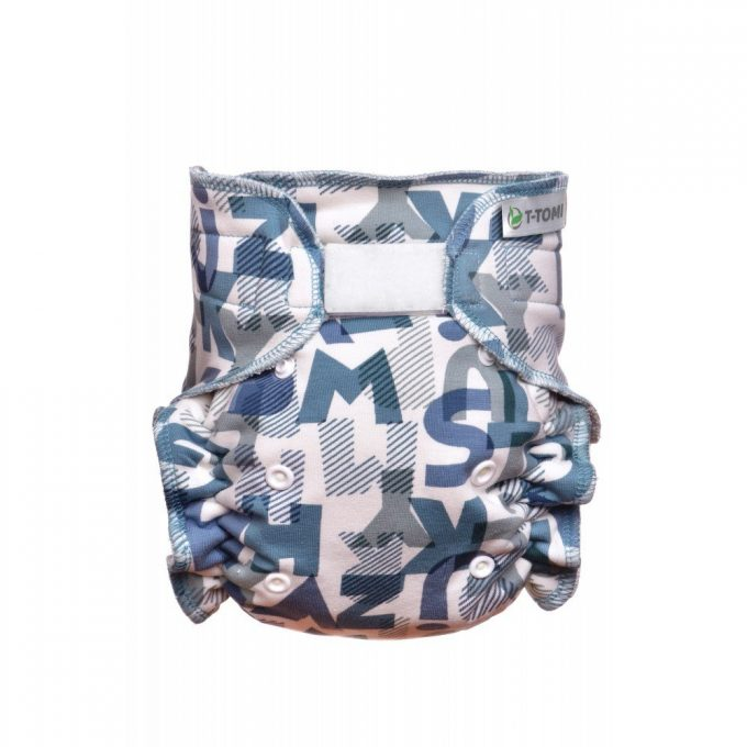 T-Tomi fitted Alphabet velcro -0