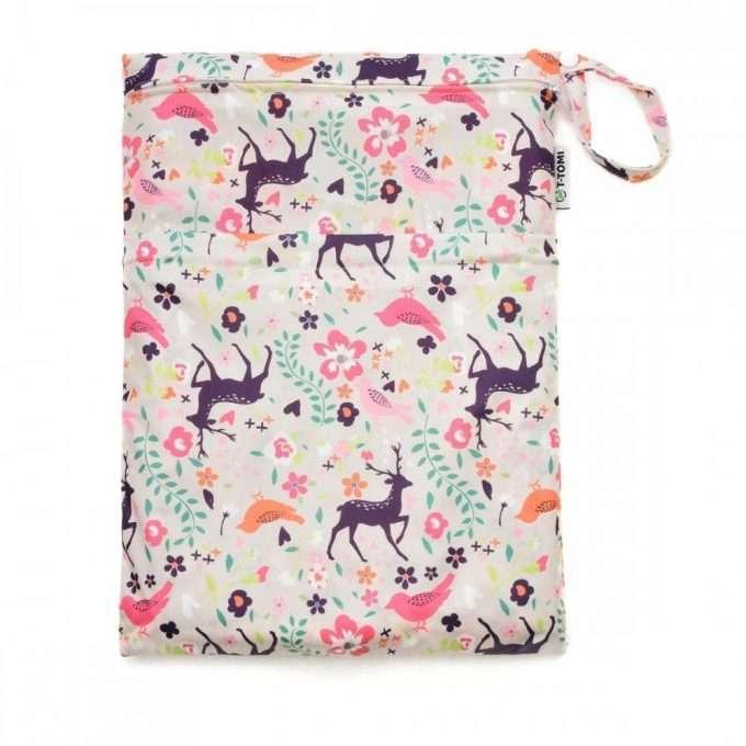 T-Tomi Wet Bag Due Tasche Forest-0