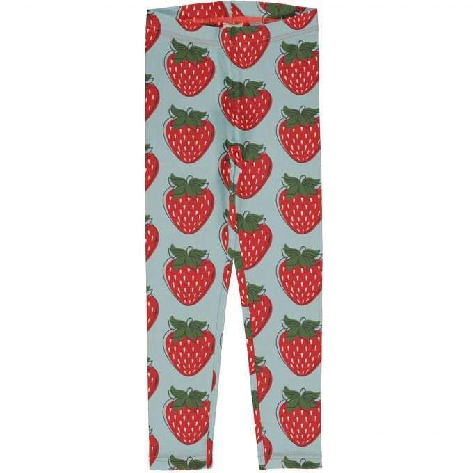 Maxomorra Leggings Strawberry-0