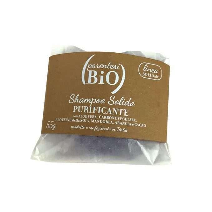 Parentesi Bio Shampoo Solido Purificante-0