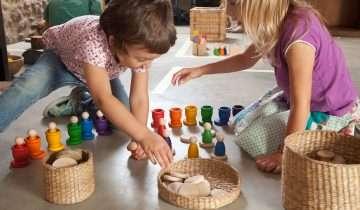 Metodo Montessori: l'ambiente come amico del bambino