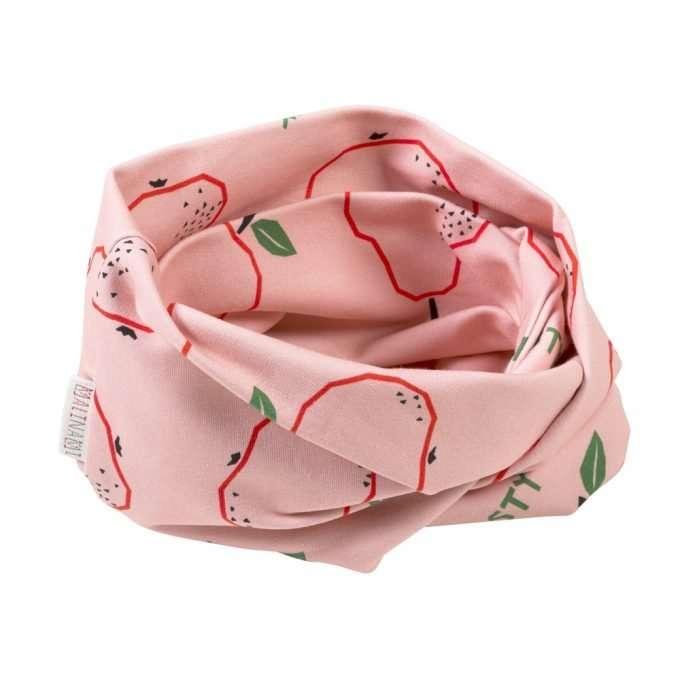 Malinami Sciarpa ad anello Fruits on Light Pink