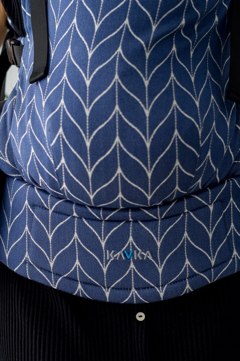 Kavka Marsupio ergonomico regolabile Multi Age Casual Blue Braid